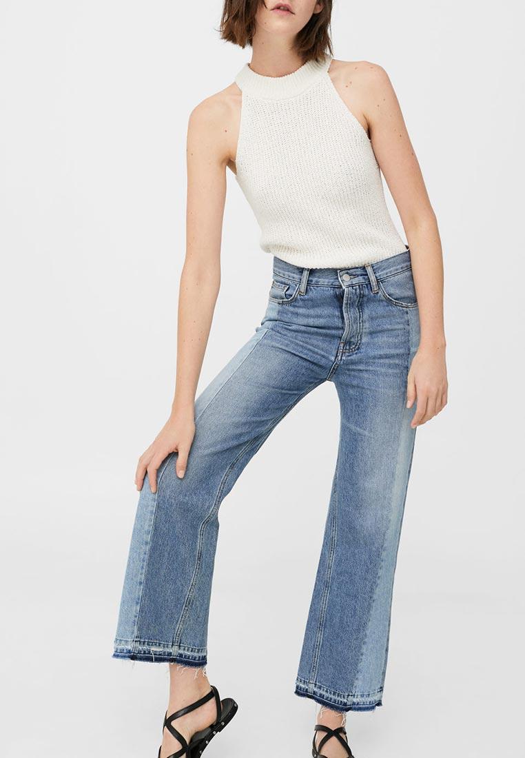 Широкие и расклешенные джинсы Mango (Манго) 13080636