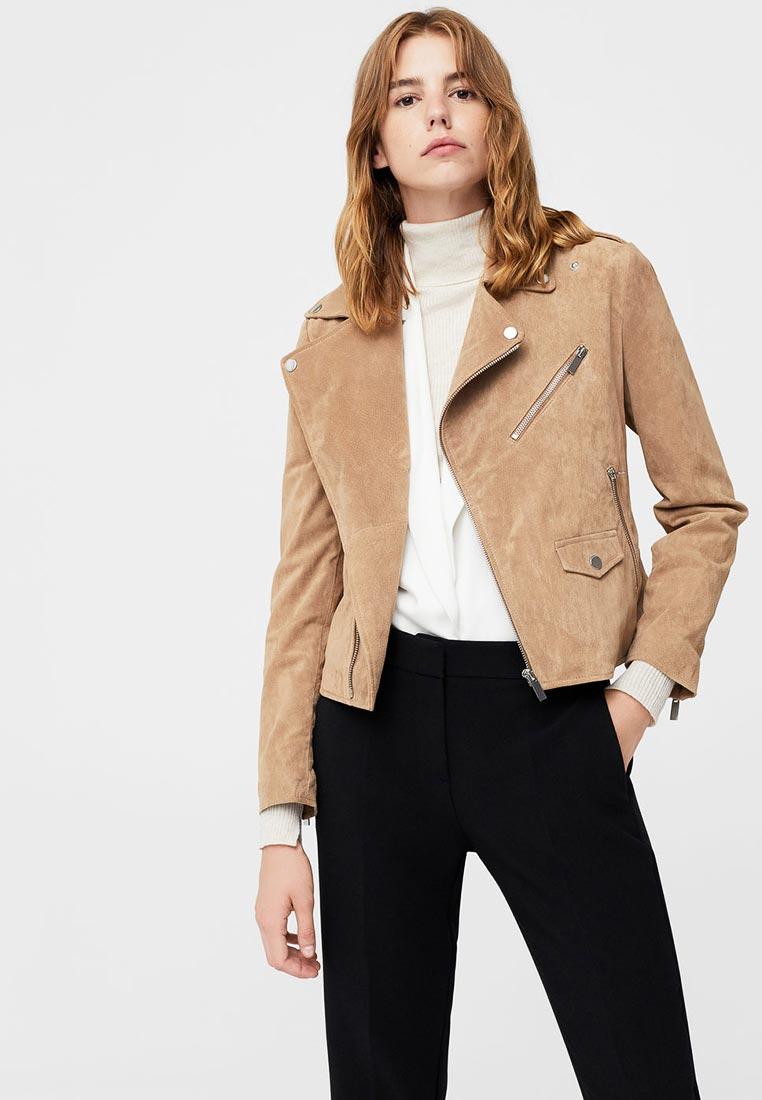 Кожаная куртка Mango (Манго) 13043715