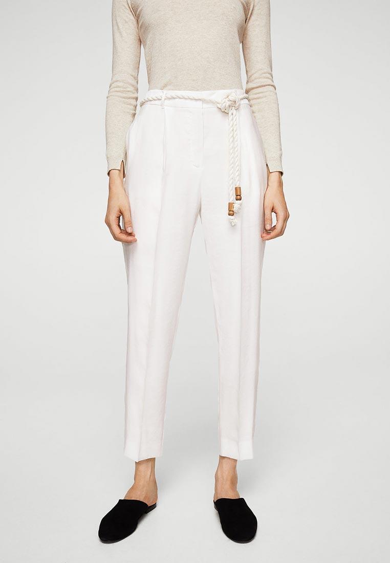 Женские зауженные брюки Mango (Манго) 11040938