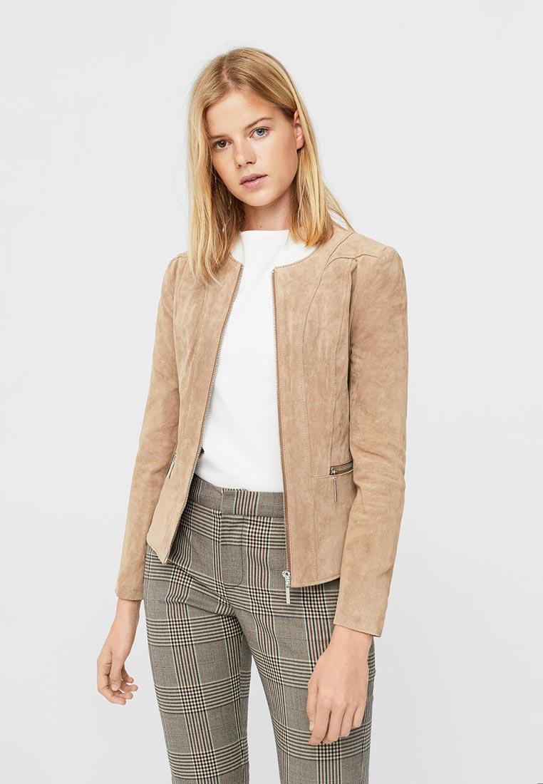 Кожаная куртка Mango (Манго) 13083713