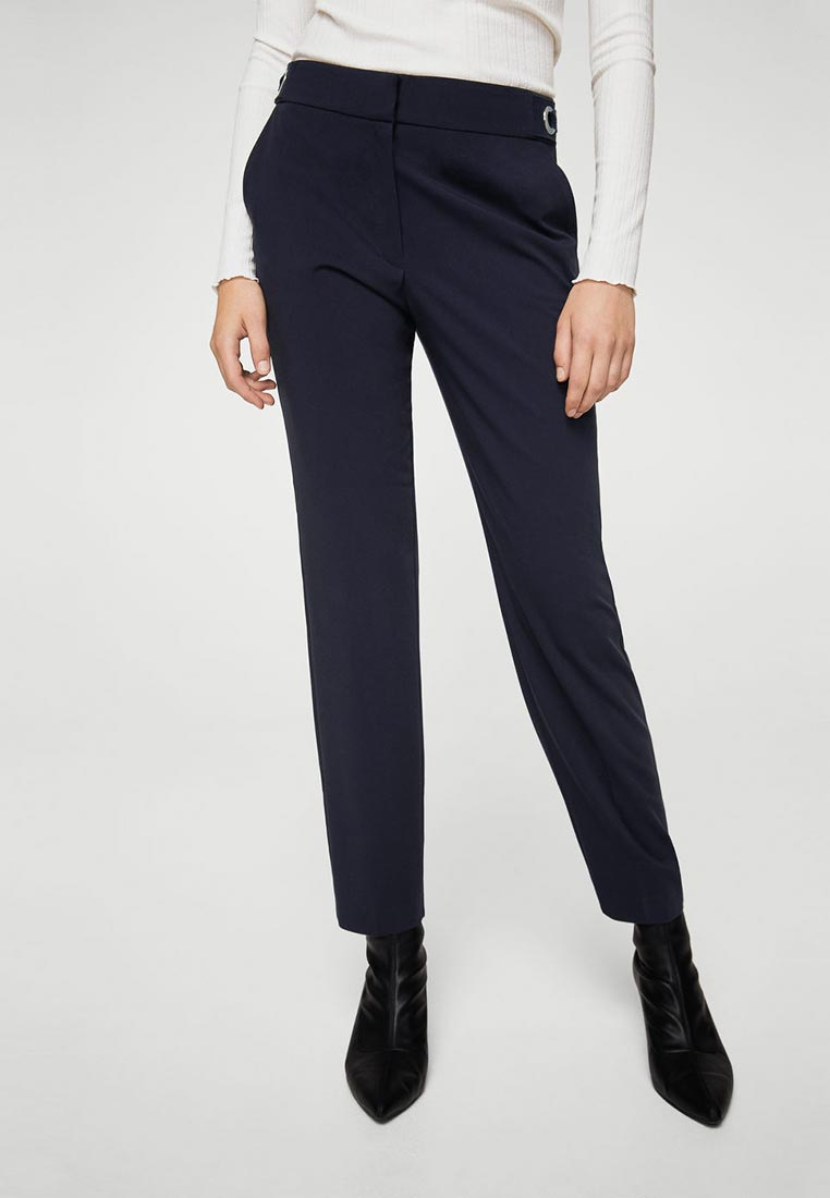 Женские зауженные брюки Mango (Манго) 11087012