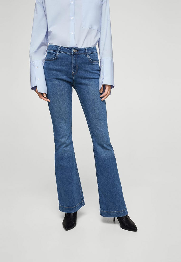 Широкие и расклешенные джинсы Mango (Манго) 13065639