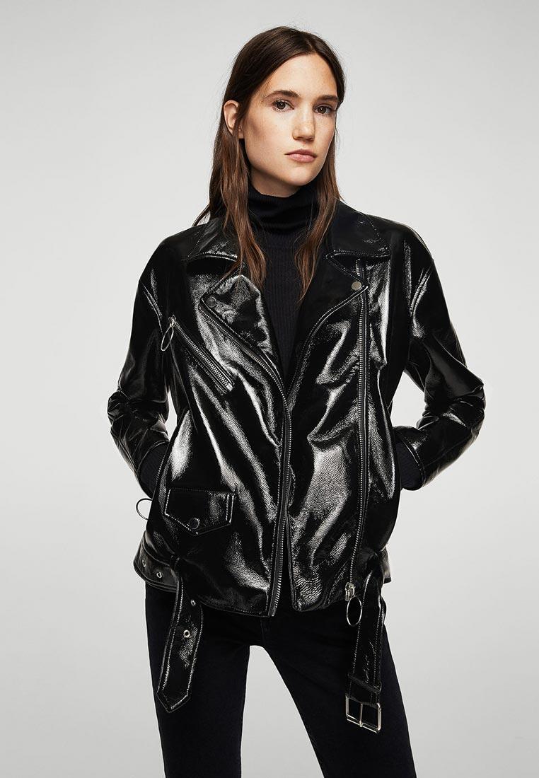 Кожаная куртка Mango (Манго) 13015025