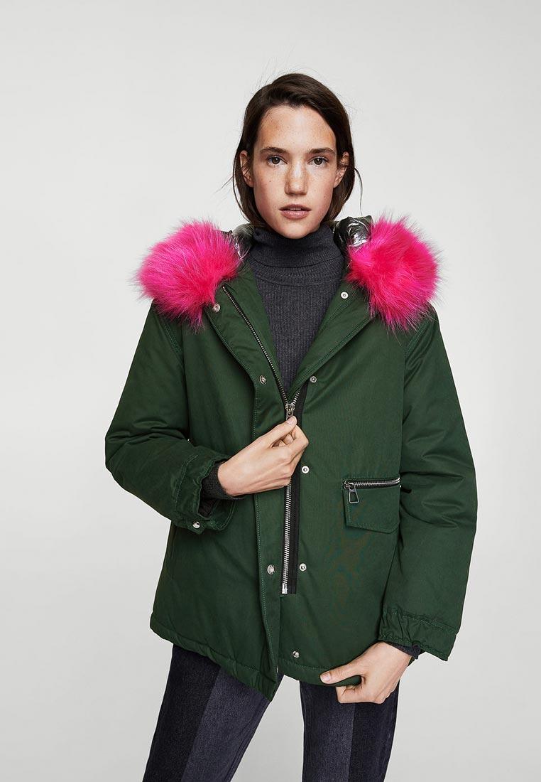 Утепленная куртка Mango (Манго) 13087023