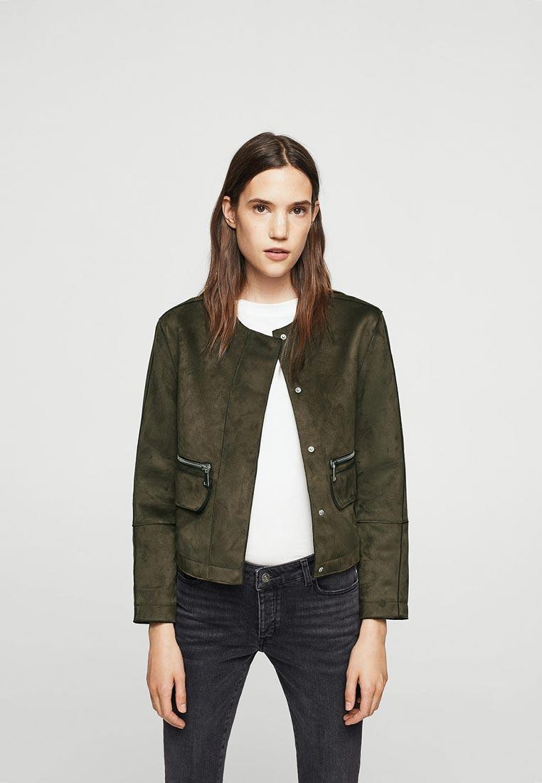 Кожаная куртка Mango (Манго) 13095738