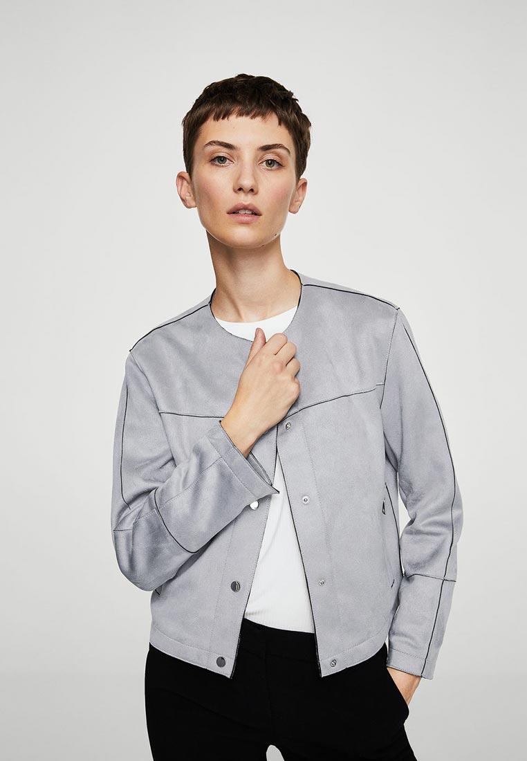 Кожаная куртка Mango (Манго) 13045739