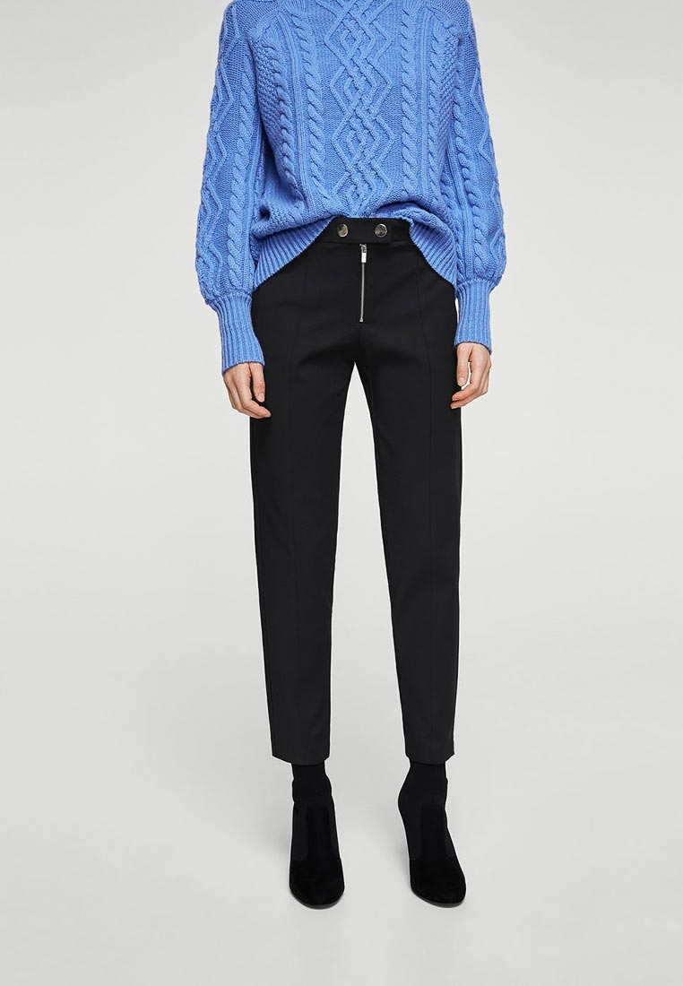 Женские зауженные брюки Mango (Манго) 13047679