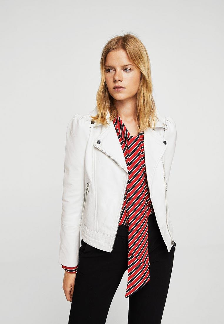 Кожаная куртка Mango (Манго) 13083045