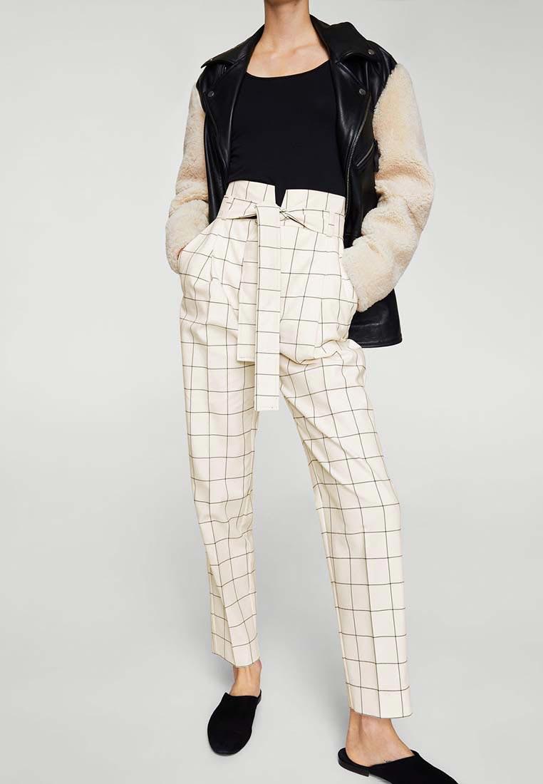 Женские зауженные брюки Mango (Манго) 11048826