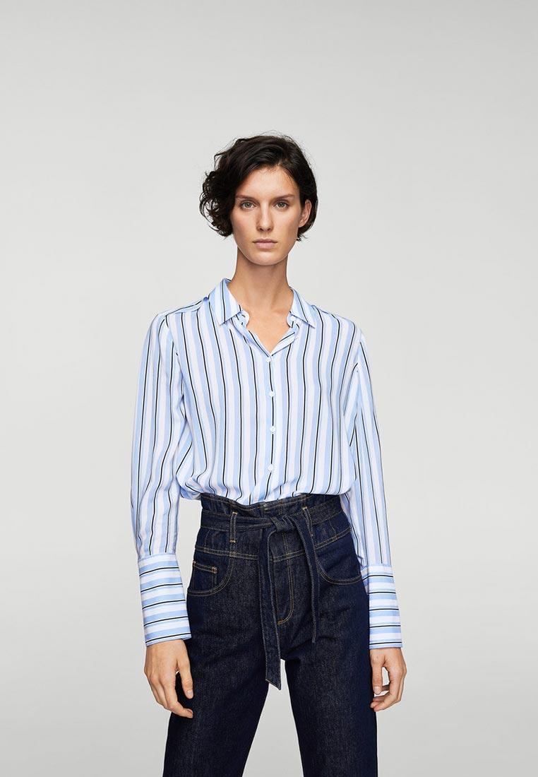 Женские рубашки с длинным рукавом Mango (Манго) 21090557