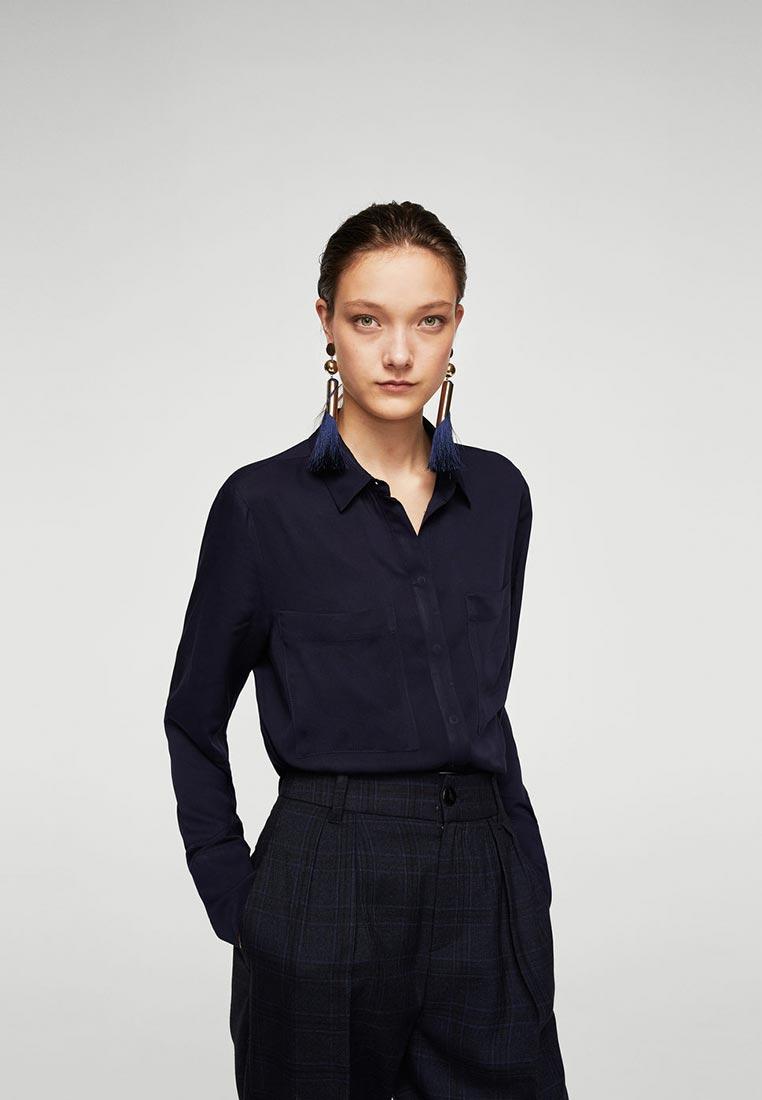 Женские рубашки с длинным рукавом Mango (Манго) 23910430