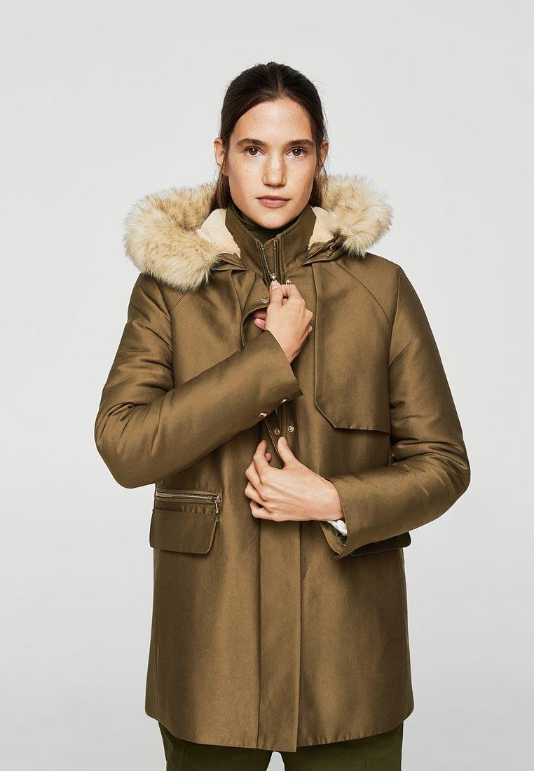 Утепленная куртка Mango (Манго) 23040371