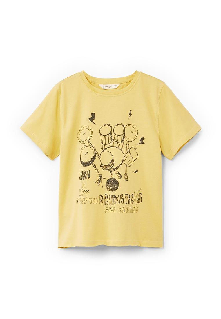 Футболка с коротким рукавом Mango Kids (Манго Кидс) 23033020