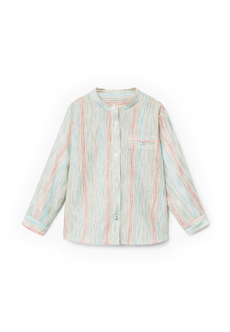 Рубашка Mango Kids (Манго Кидс) 23050656