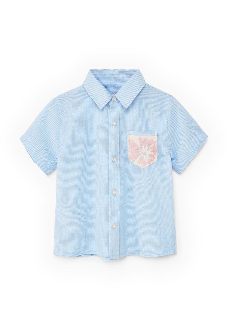 Рубашка Mango Kids (Манго Кидс) 83007548