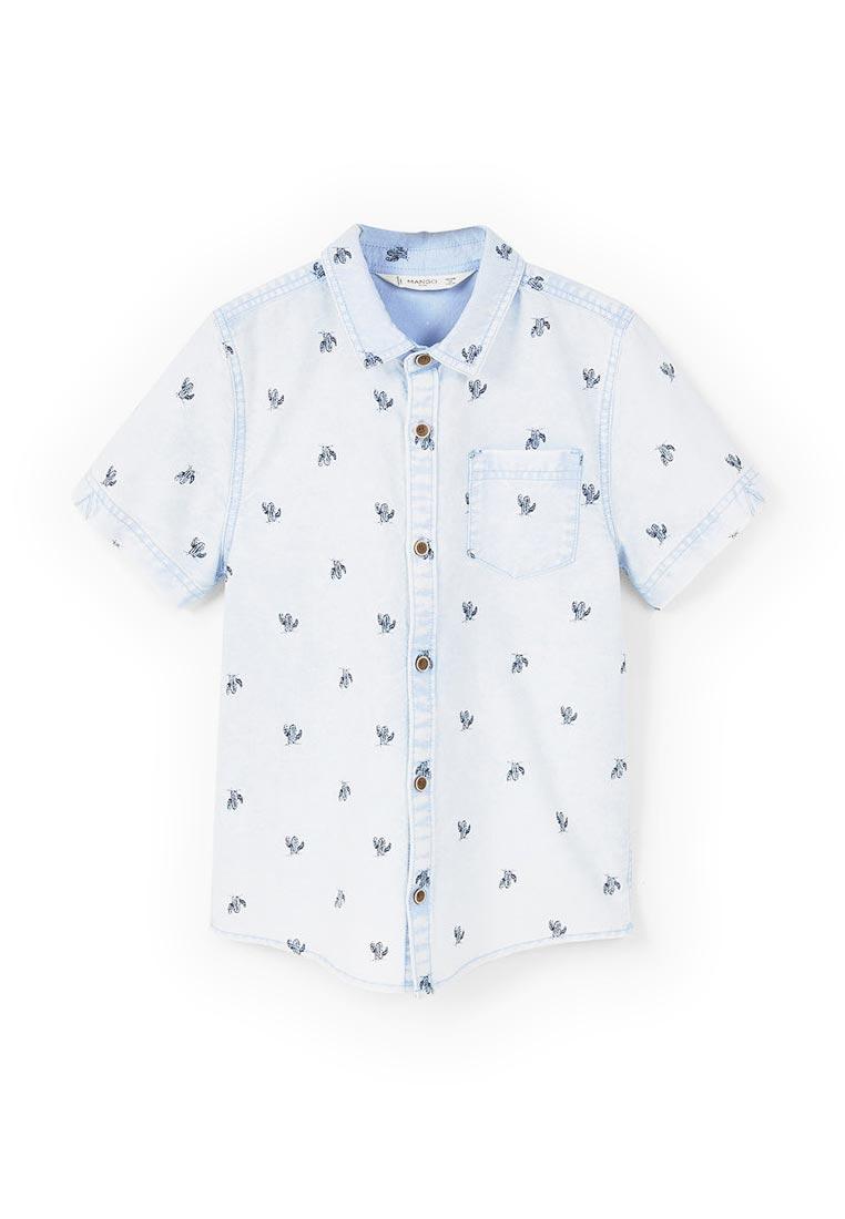 Рубашка Mango Kids (Манго Кидс) 83027546