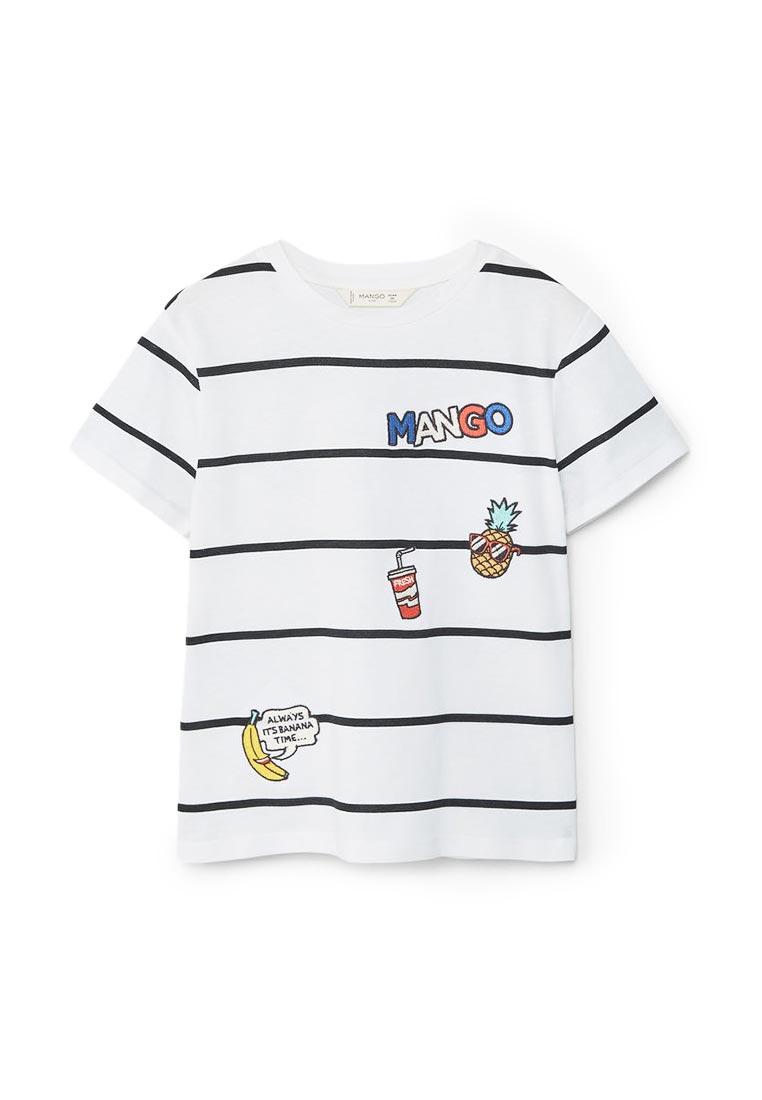 Футболка с коротким рукавом Mango Kids (Манго Кидс) 83017567