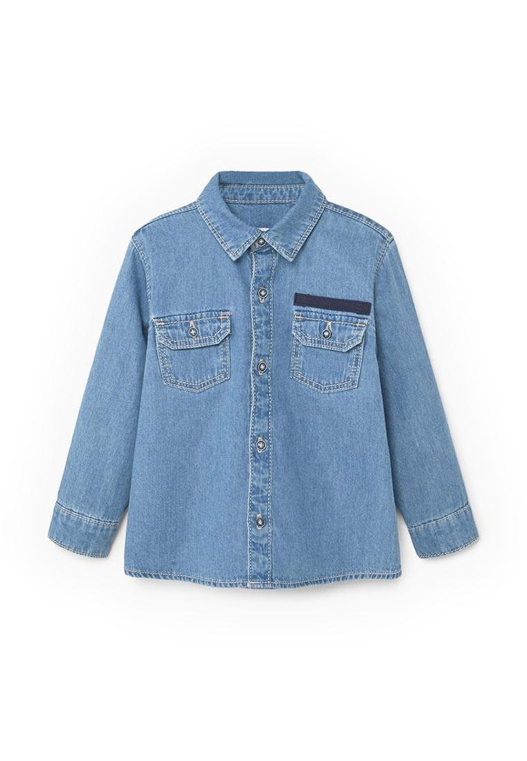 Рубашка Mango Kids (Манго Кидс) 13070602