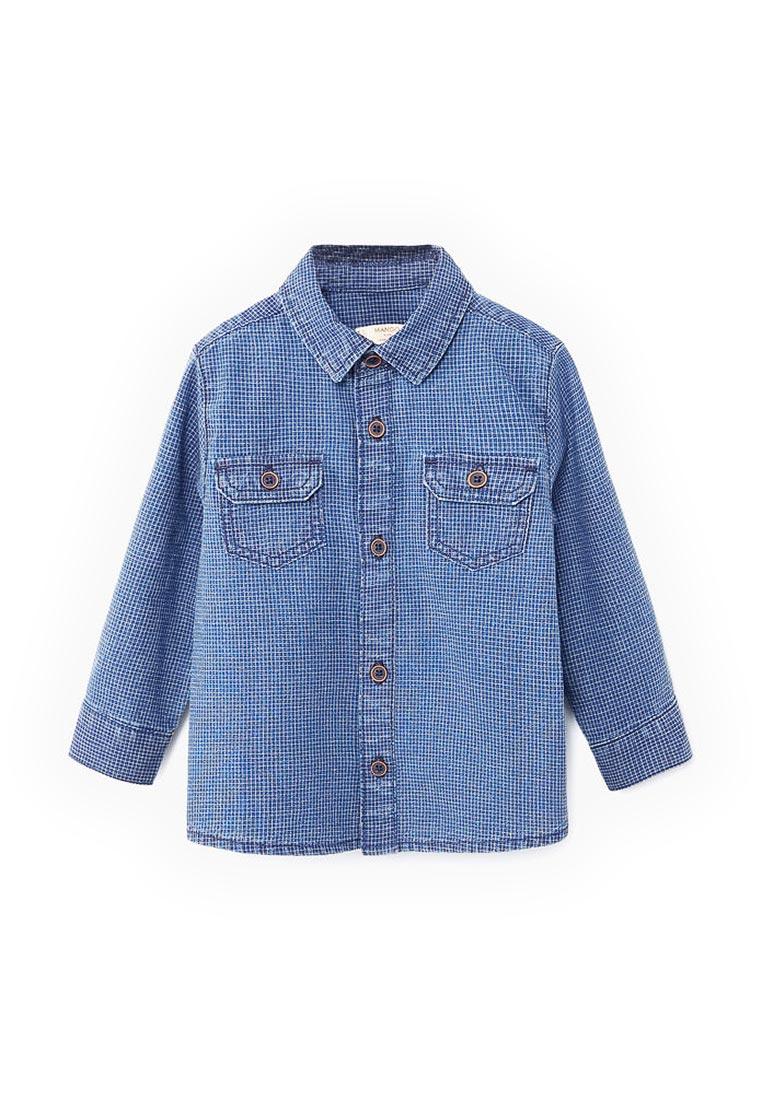Рубашка Mango Kids (Манго Кидс) 13093033