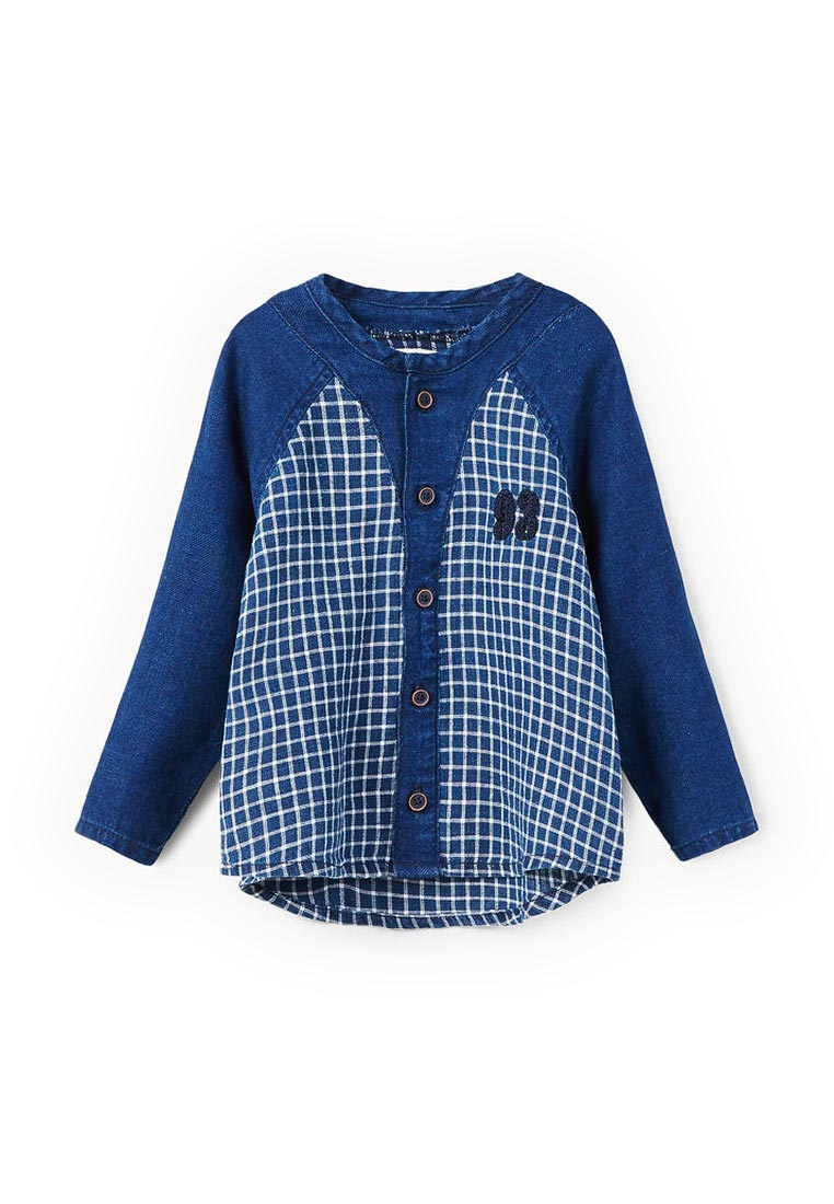 Рубашка Mango Kids (Манго Кидс) 13043034