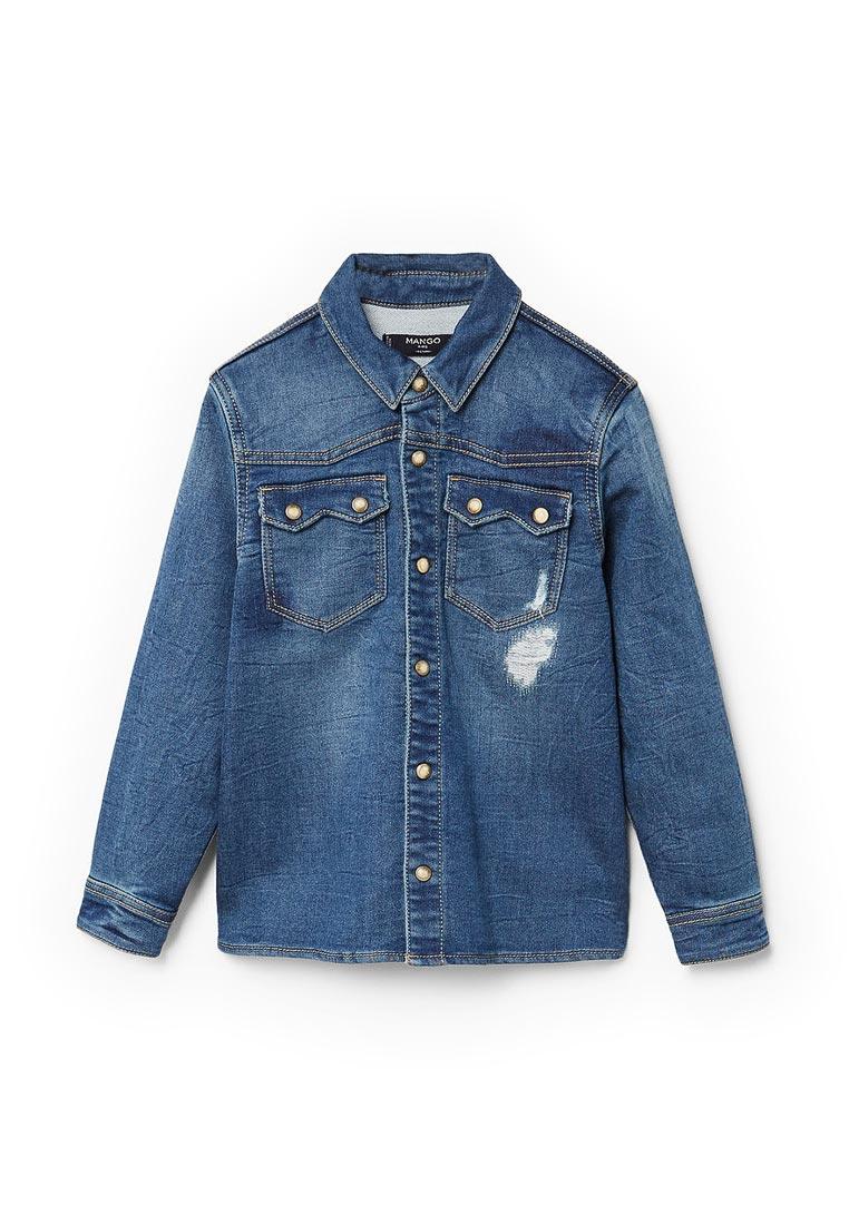 Рубашка Mango Kids (Манго Кидс) 13063723