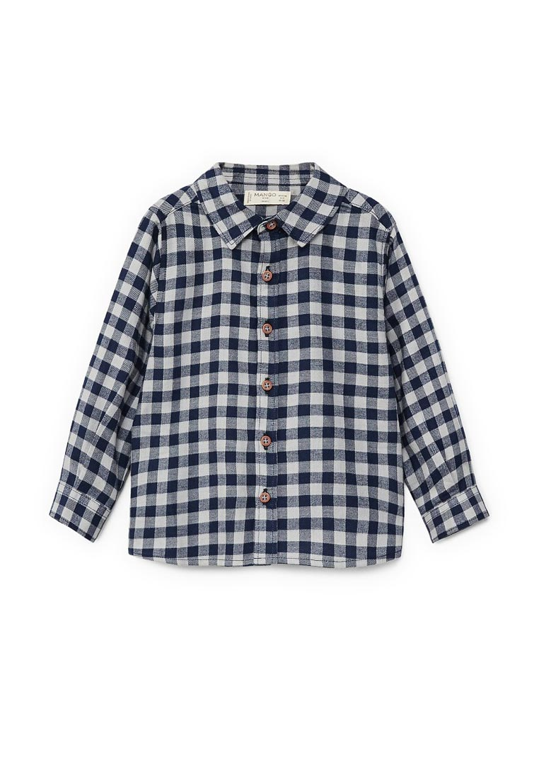Рубашка Mango Kids (Манго Кидс) 13067639