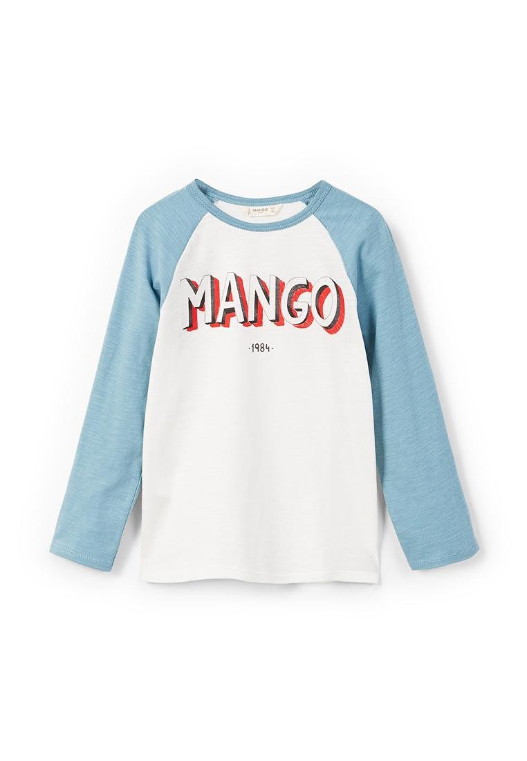 Футболка с длинным рукавом Mango Kids (Манго Кидс) 23833017