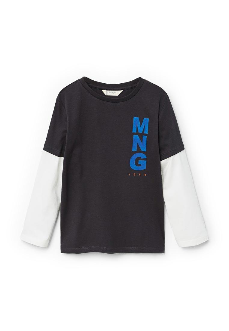 Футболка с длинным рукавом Mango Kids (Манго Кидс) 23733017