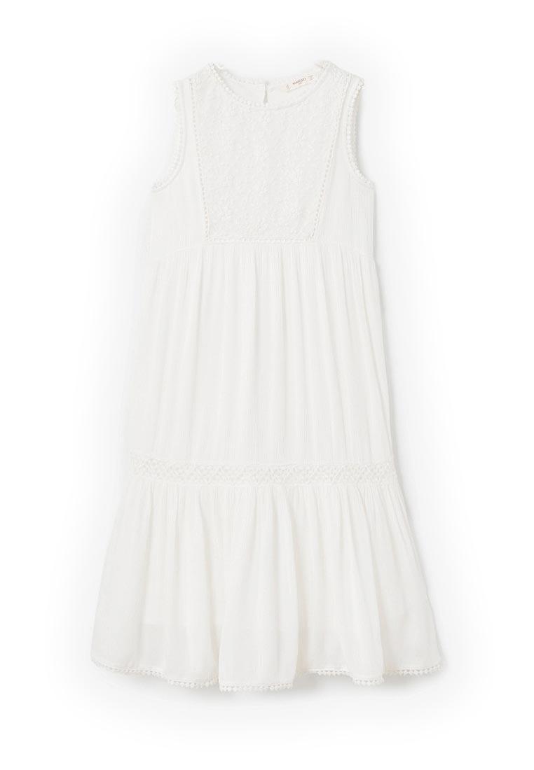Повседневное платье Mango Kids (Манго Кидс) 23043638