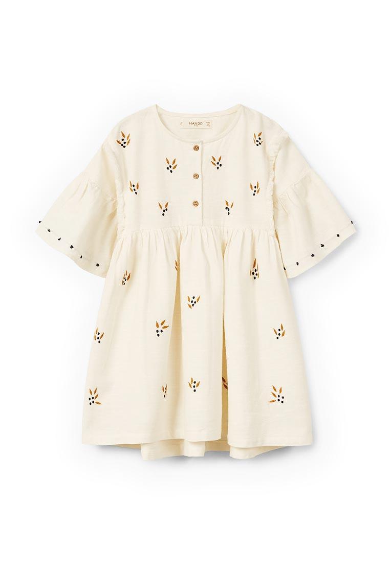 Повседневное платье Mango Kids (Манго Кидс) 23030581