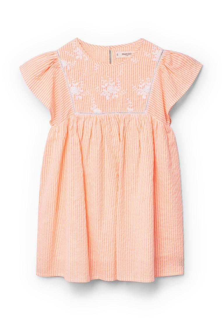 Повседневное платье Mango Kids (Манго Кидс) 23063617