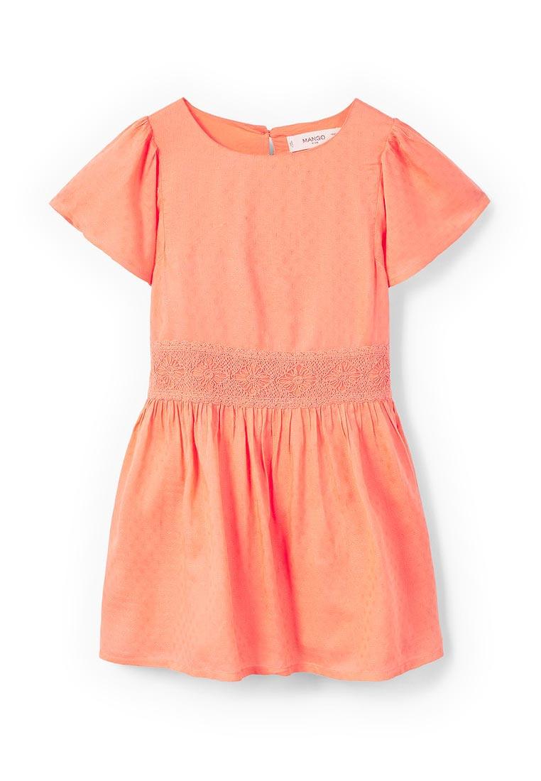 Повседневное платье Mango Kids (Манго Кидс) 23053624
