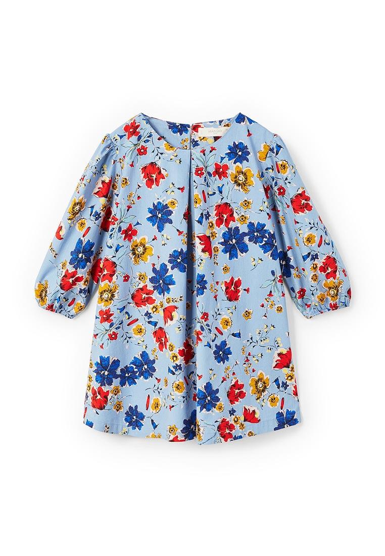 Повседневное платье Mango Kids (Манго Кидс) 23060707