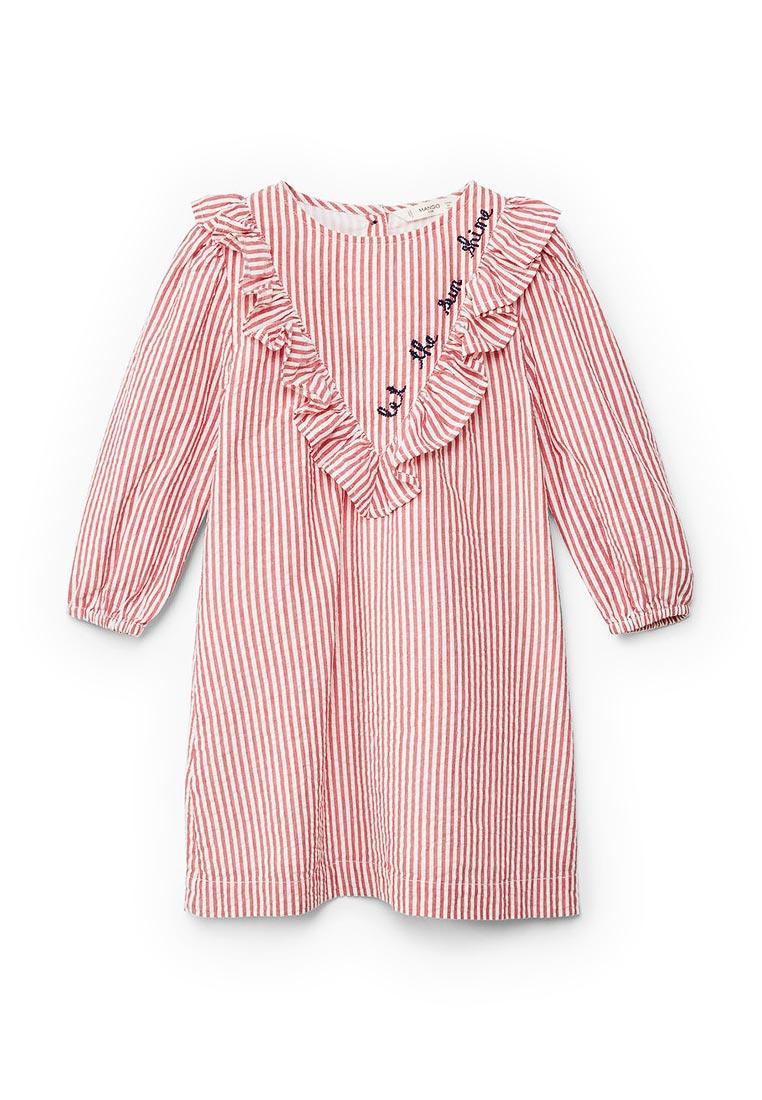 Повседневное платье Mango Kids (Манго Кидс) 23090586