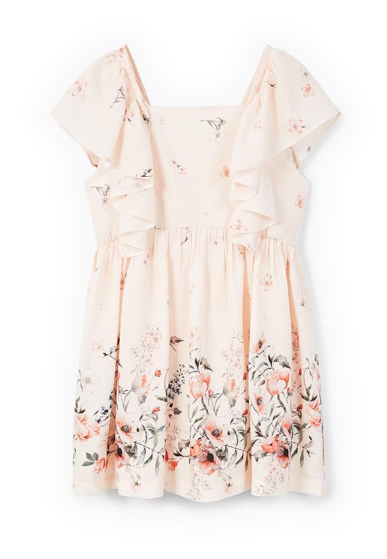 Повседневное платье Mango Kids (Манго Кидс) 23043653