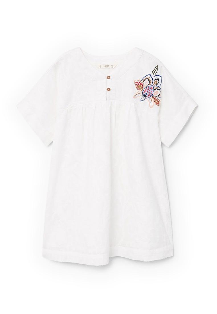 Повседневное платье Mango Kids (Манго Кидс) 23060580