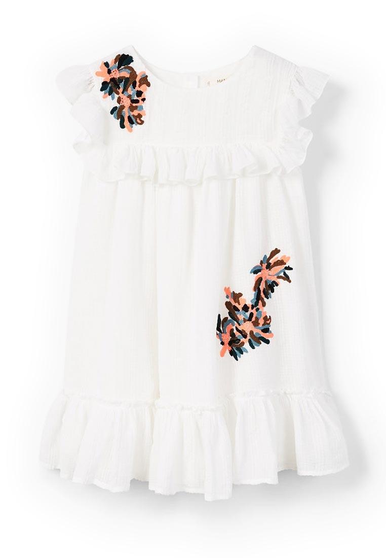 Повседневное платье Mango Kids (Манго Кидс) 23093661