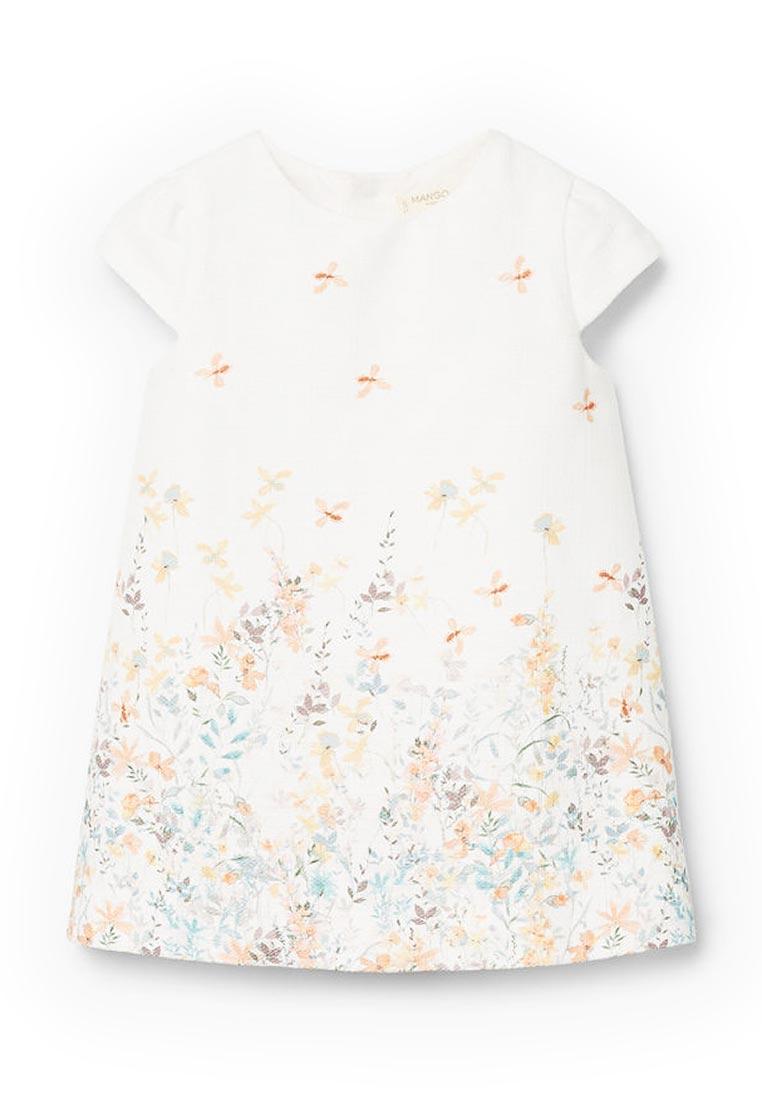 Повседневное платье Mango Kids (Манго Кидс) 23013672