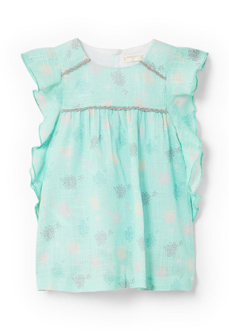 Повседневное платье Mango Kids (Манго Кидс) 23013671