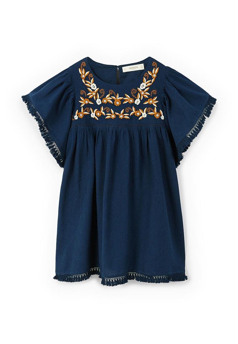 Повседневное платье Mango Kids (Манго Кидс) 23070600