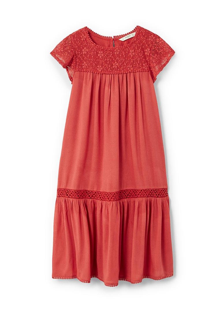 Повседневное платье Mango Kids (Манго Кидс) 23033640
