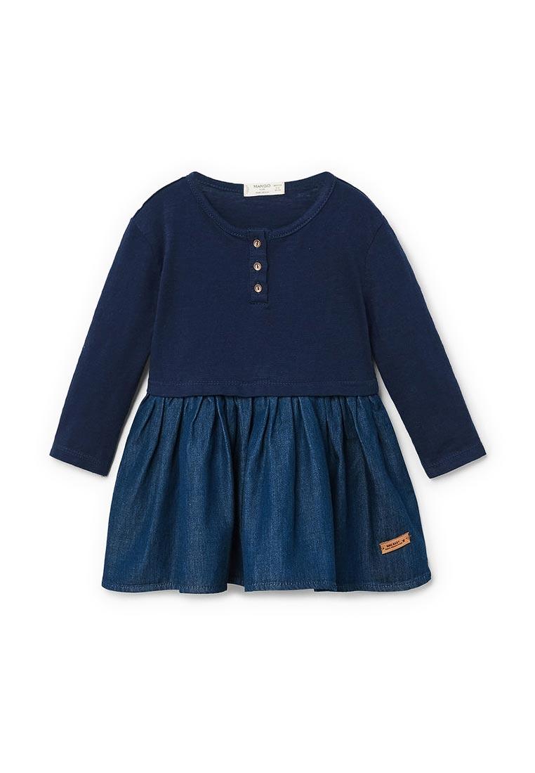 Повседневное платье Mango Kids (Манго Кидс) 23090517