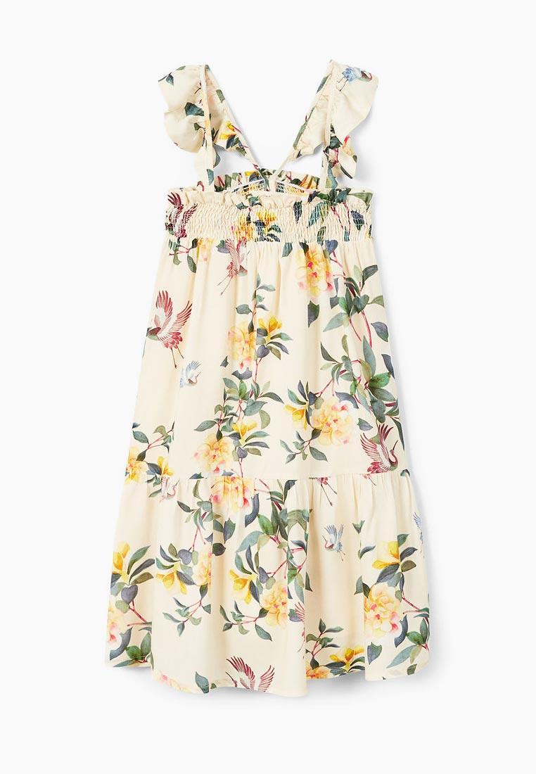 Повседневное платье Mango Kids (Манго Кидс) 23017692