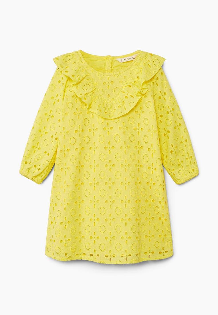 Повседневное платье Mango Kids (Манго Кидс) 23055645