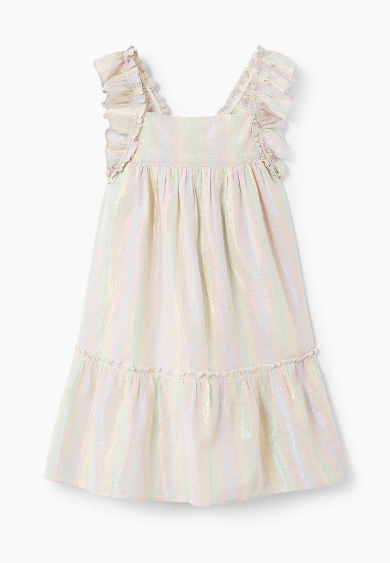 Повседневное платье Mango Kids (Манго Кидс) 23095640