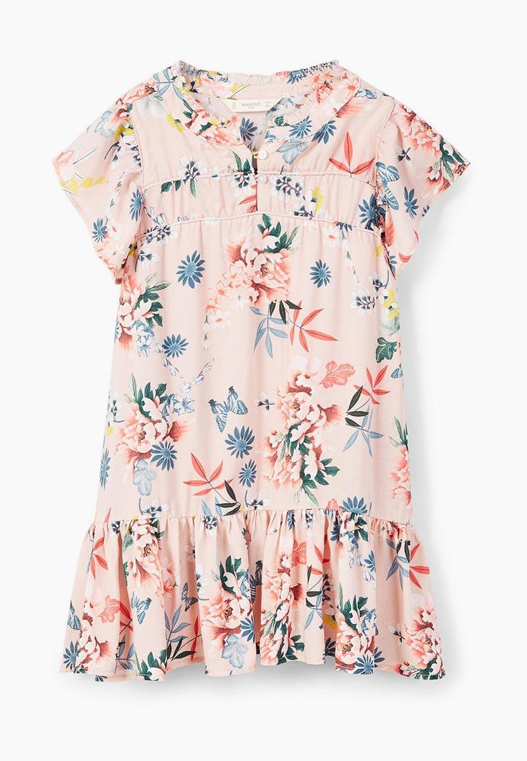 Повседневное платье Mango Kids (Манго Кидс) 23023669