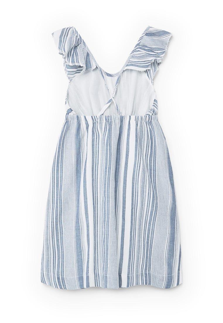 Повседневное платье Mango Kids (Манго Кидс) 13040274