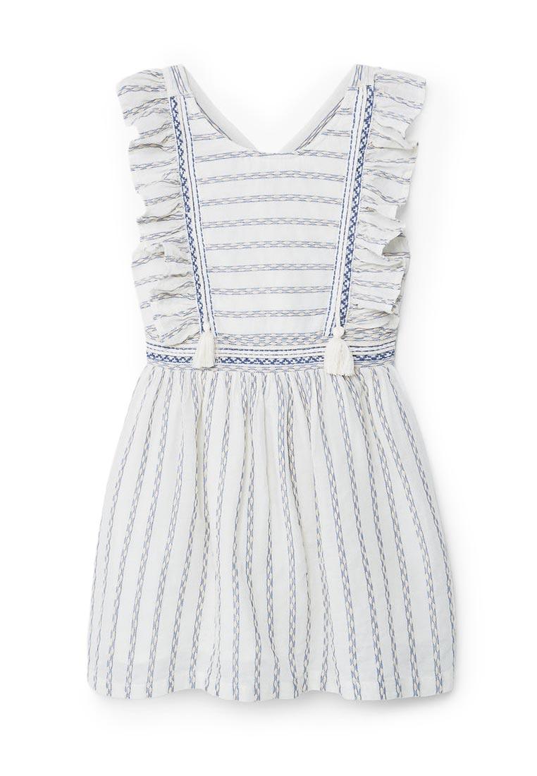 Повседневное платье Mango Kids (Манго Кидс) 13040275