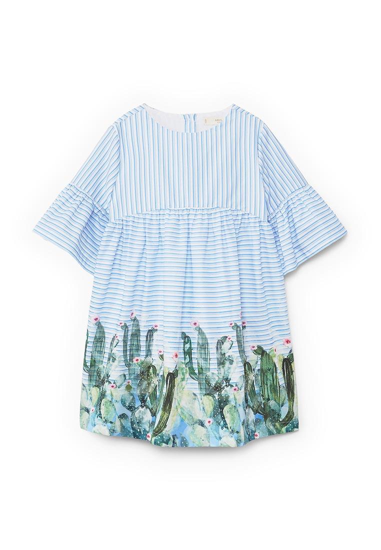 Повседневное платье Mango Kids (Манго Кидс) 13050789