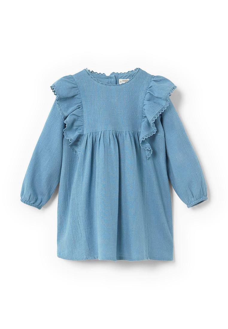 Повседневное платье Mango Kids (Манго Кидс) 13023031